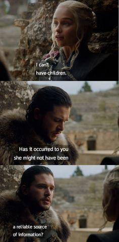 Tyrion. No, dude.