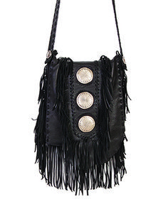 Scully Cowgirl Spirit Fringe Purse at Cowgirl Blondie's Dumb Blonde Boutique