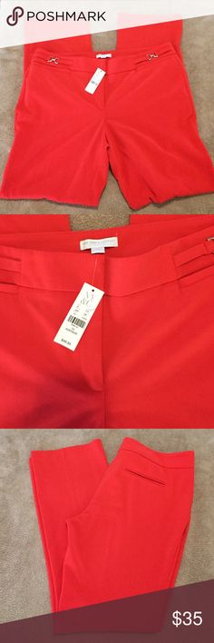 New York & Co Pants NWT Red polyester size 14 trousers. New York & Company Pants Trousers