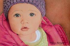 Colored Pencil Art Portrait