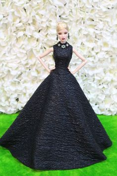 Evening dress by   for Fashion royalty / poppy parker dolls by t.d.fashion 9/4/3 #tdfasiondolls