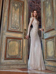 d431057987c #GaliaLahav -- The Summer Bella is a glamorous mermaid silhouette, made of a