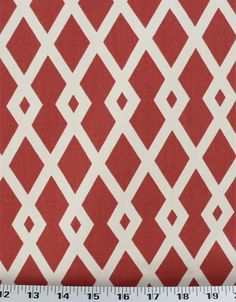 Graphic Fret Pomegranate | Online Discount Drapery Fabrics and Upholstery Fabric Superstore!