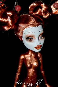 ON RESEREVE for Andrea custom monster high doll by Saijanide