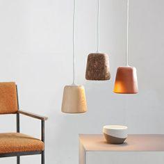 Hängeleuchte - Terrakotta - alt_image_threevon Noergaard & Kechayas für Nevvvorks