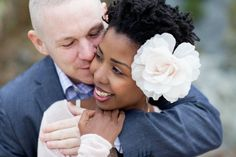 Bague de mariage : postcards and pretties: {real wedding} magalie + mikes beach elopement Interracial Family, Interracial Marriage, Black Woman White Man, White Women, Black Men, Beach Elopement, Elopement Wedding, Dating Black Women, Cute Couples