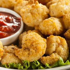 This breaded popcorn shrimp recipe is a baked version. The shrimp are quick to prepare and to cook and the cleanup is easy.. Breaded Popcorn Shrimp Recipe from Grandmothers Kitchen.