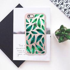 Tropical Foliage Pattern iPhone & iPod Case iPhone 6s case by Uma Gokhale   Casetify https://wanelo.com/p/47857253/tropical-foliage-pattern-iphone-ipod-case-iphone-6s-case-by-uma-gokhale-casetify #design #art #graphicdesign