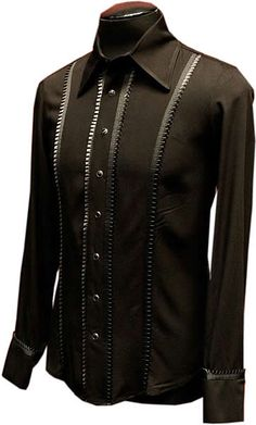 The Count Mens Shirt by Shrine Clothing Goth Steampunk Mens victorian shirts