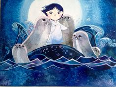 "Song of the sea""watercolor"""