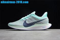 a4412879dc 2018 New Nike Air Zoom Pegasus 35 Turbo 2.0 Cheap Mens Sneaker Light Blue  Black AJ4115