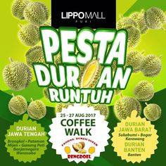 Pesta Durian Runtuh Lippo Mall Puri http://www.perutgendut.com/read/pesta-durian-runtuh-lippo-mall-puri/6393?utm_content=buffer666a3&utm_medium=social&utm_source=pinterest.com&utm_campaign=buffer #Event #Kuliner #Indonesia #Jakarta #Durian