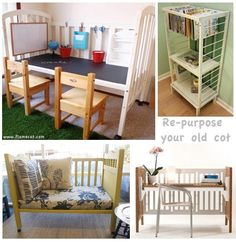 Re-use of your old cot