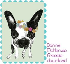Feed Your Soul: the free art project, tons of free art printables love this dog one
