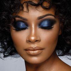 schwarze Frauen Make-up Geek - Wedding Makeup Dramatic Black Girl Makeup, Girls Makeup, Glam Makeup, Beauty Makeup, Hair Makeup, Hair Beauty, Makeup Goals, Makeup Eyes, Makeup Emoji
