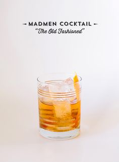 Mad Men cocktail party ideas | Cocktail by Please and Thank You | 100 Layer Cake