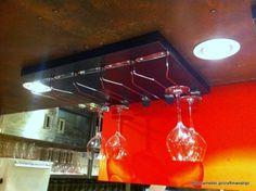 IKEA製 ワイングラスラックをお店で使う。   カイテキ!やっちゃえDIY!!