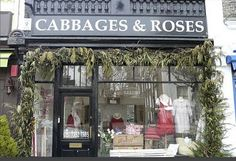 Cabbages and Roses  Beautiful interiors and clothing collections