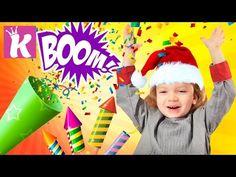 Хлопушка Своими Руками Новогодние поделки для детей CHRISTMAS CRACKERS LANZA-CONFETI para NINOS - YouTube