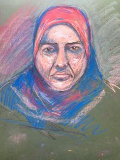 portrait pastel Pastel, Portrait, Painting, Art, Art Background, Cake, Headshot Photography, Painting Art, Kunst