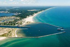 Muskegon, Michigan  Heading here on Saturday!!