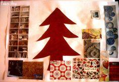 Collage l'Albero di Natale e i regali che vorrei ricevere