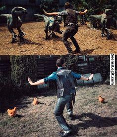 Animal memes Jurassic World Nailed It...