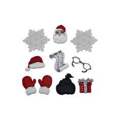 Botones con motivos navideños http://www.gloriapatchwork.com/tienda/botones-de-navidad/4408-botones-con-motivos-navideos.html