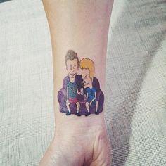 Beavis and Butthead  #tattooist_doy