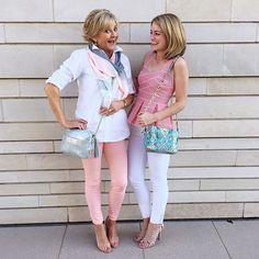 Like mother, like daughter || The Mingle Mingle Mama and Mini on WWW.KELLYWYNNE.COM