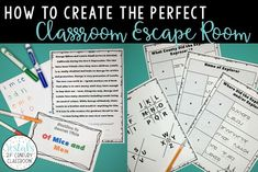 A classroom escape room is the perfect activity to get your students engaged. Here's all the tips and tricks for creating an easy, inexpensive escape room!#vestals21stcenturyclassroom#escaperoom#classroomescaperoom#createclassroomescaperoom#classroomescaperoomactivities