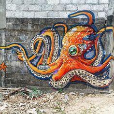 octopus  by mutonnoir
