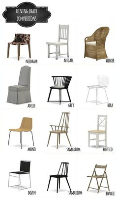 DINING CHAIR CONVERSIONS at MIO via Sims 4 Updates
