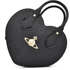 Vivienne Westwood Frilly Snake 5526 Heart Bag | GarmentQuarter