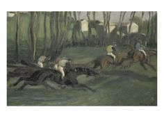 La Course Giclee Print by Louis Anquetin at Art.com