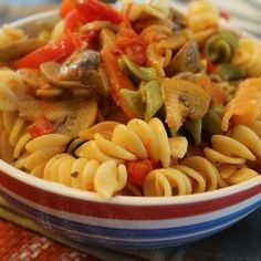 Lovely Pasta with Sauteed Veggies. DI missing u for PASTA :(