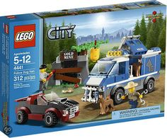 Compare prices on LEGO City Set Police Dog Van from top online retailers. Save money on your favorite LEGO figures, accessories, and sets. Lego City Police, Lego Fire, Lego City Sets, Lego Toys, Lego Lego, Lego Ninjago, Harry Potter, Buy Lego, Star Wars