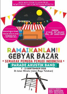• Bazar Poster • for independent day