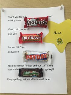 DIY Appreciation Gift Idea for Coworkers. You could also