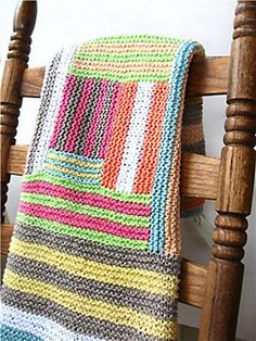 Ravelry: Crazy Cabin Baby Blanket by Michael Brian McNorrill