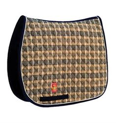 Lettia Collection Baker Pad    The Lettia Collection Baker All Purpose Saddle Pad is styled with the highly recognized Baker plaid pattern throughout the equestrian world and is incorporated with some of Lettia's best lines.    www.greenhawk.com