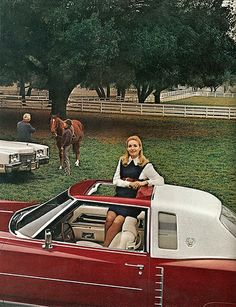 Pg 1 of Cadillac Eldorado, Lincoln Continental, Car Advertising, Old Ads, Buick, Corvette, Grand Prix, Luxury Cars, Cool Cars