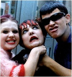 Debbie Juvenile, Siouxsie and Billy Idol before they reinvented themselves, photo by Steve Severin.