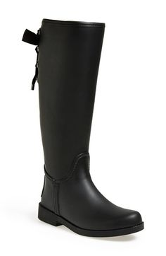Free shipping and returns on COACH 'Tristee' Waterproof Rain Boot at Nordstrom.com. Ladylike laces cinch the shaft of a puddle-proof boot.