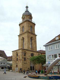Heilbronn - Hafenmarktturm