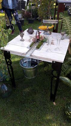 Table de jardin NATERIAL Robin rectangulaire miel 6 personnes ...