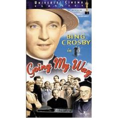 Going My Way ... Bing Crosby carries his character of Father O'Malley over from Bells of St. Mary into this movie and the scene at the end where Barry Fitzgerald's character Father Fitzgibbon gets to see his mother from Ireland for the 1st time in over 45 years as the song Too-ra-loo-ra-loo-ral is sung ... makes me cry every time!