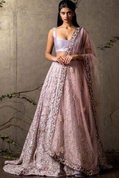 Indian Wedding Engagement Lehenga Choli Brocade Lace Embroidered Made to Order | eBay