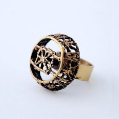 "Modernist Finland Vintage Pentti Sarpaneva Bronze ""Pitsi"" Ring 1960s. $90.00, via Etsy. Heart Beating Fast, Marimekko, Jewelry Design, Unique Jewelry, Rings For Men, Wedding Rings, Bronze, Stud Earrings, Brass"