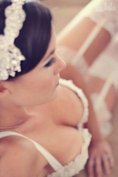 bride style boudoir by fern